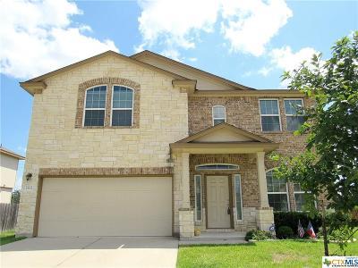 Copperas Cove Single Family Home For Sale: 2302 Jesse Drive