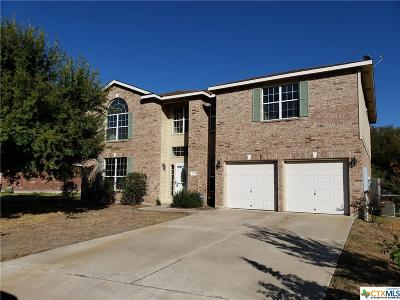 Harker Heights Single Family Home For Sale: 323 Canoe Drive
