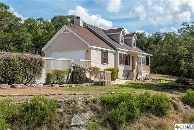 Canyon Lake Single Family Home For Sale: 2075 Johnson Road