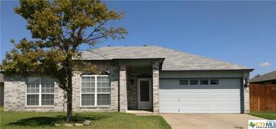 Killeen Single Family Home For Sale: 4407 Kit Carson Trail