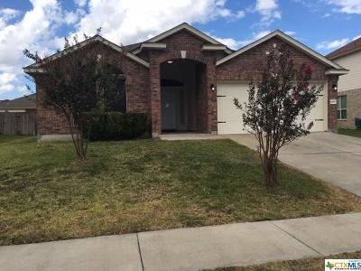 Killeen Single Family Home For Sale: 6109 Malachi Lane