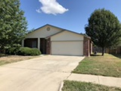 Killeen Single Family Home For Sale: 2502 Verbena Loop