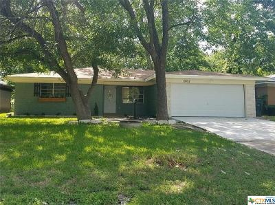 Temple TX Single Family Home For Sale: $115,000