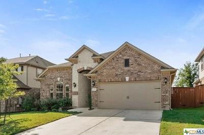 Round Rock Single Family Home For Sale: 2735 Enza Court