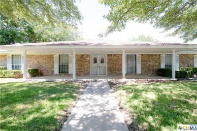 Killeen Single Family Home For Sale: 1801 Mockingbird Lane
