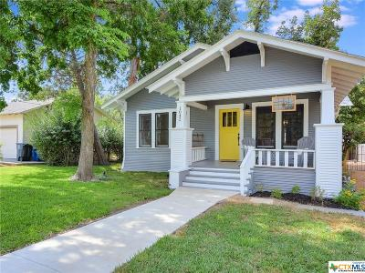 New Braunfels Single Family Home For Sale: 1042 Cross Street