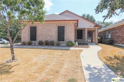 Nolanville Single Family Home For Sale: 127 Gehler Circle