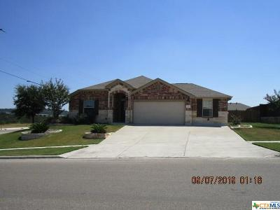 Killeen Single Family Home For Sale: 6608 Serpentine Drive