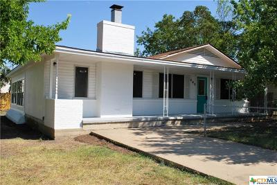 Copperas Cove Single Family Home For Sale: 203 Margaret Lee Street