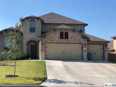 Harker Heights Single Family Home For Sale: 812 Valentino Drive