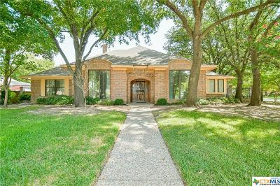 Temple Single Family Home For Sale: 2701 Canyon Oaks Court
