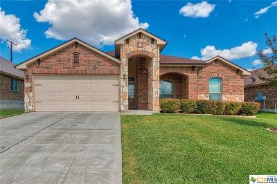 Harker Heights Single Family Home For Sale: 3313 Vineyard Trail