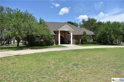 Lampasas Single Family Home For Sale: 2300 Deer Trail