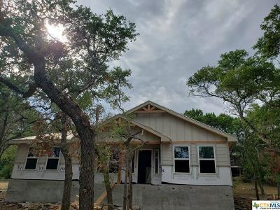 Canyon Lake TX Single Family Home For Sale: $179,900