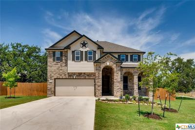 Coryell County, Falls County, McLennan County, Williamson County Single Family Home For Sale: 909 Crown Anchor Bend