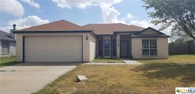 Killeen Single Family Home For Sale: 2206 Waterfall Drive
