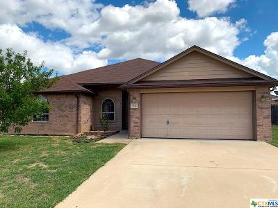 Copperas Cove Single Family Home For Sale: 2512 Merle Drive
