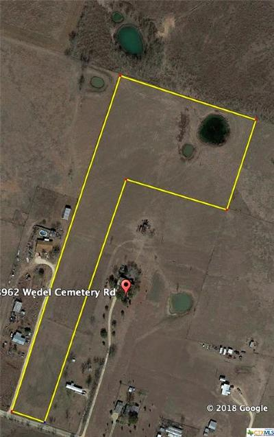 Bell County, Burnet County, Coryell County, Lampasas County, Mills County, Williamson County, San Saba County, Llano County Residential Lots & Land For Sale: Tbd Wedel Cemetery