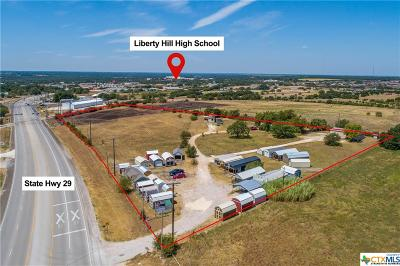 Williamson County Residential Lots & Land For Sale: 14852 W State Highway 29