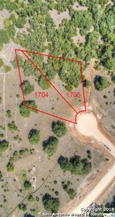 New Braunfels Residential Lots & Land For Sale: 1221 Brushy Curve
