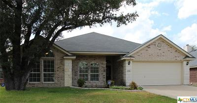 Harker Heights Single Family Home For Sale: 2014 Merlin Drive