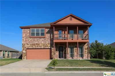 Killeen Single Family Home For Sale: 6900 Deorsam Loop