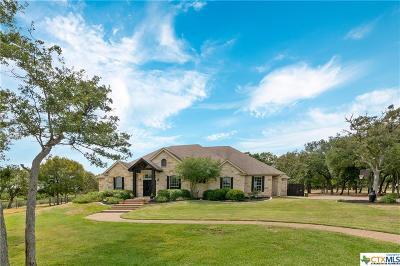 Salado Single Family Home Pending: 1148 Hidden Springs Drive