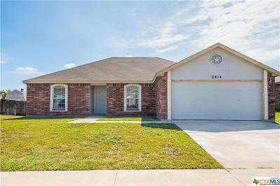 Copperas Cove Single Family Home For Sale: 2414 Ryan Drive