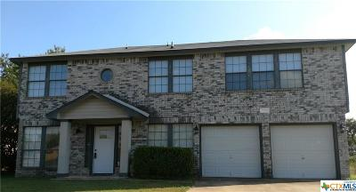 Killeen Single Family Home For Sale: 2706 Windmill Drive
