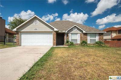 Killeen Single Family Home For Sale: 2703 Roadrunner Drive