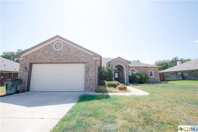 Killeen Single Family Home For Sale: 6410 Zinc