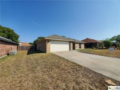 Killeen TX Single Family Home For Sale: $134,800