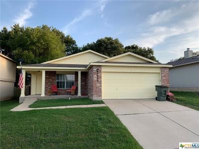 Killeen Single Family Home For Sale: 3008 Tangent Court