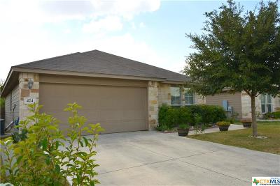 Hays County Single Family Home For Sale: 424 Capistrano Drive