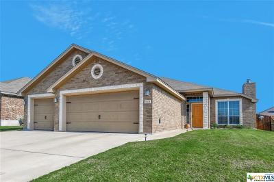 Killeen Single Family Home For Sale: 3605 Tatonka Drive