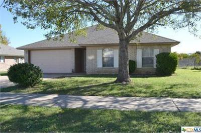 Killeen Single Family Home For Sale: 3906 Riverrock Drive