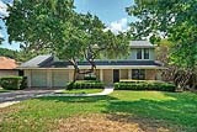 Austin Single Family Home For Sale: 11013 Oak View Drive