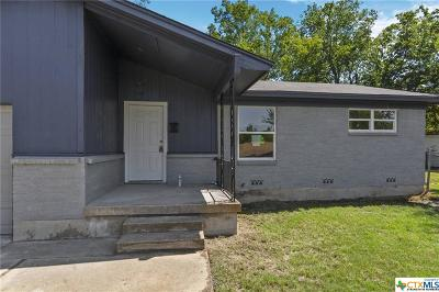 Killeen Single Family Home For Sale: 1308 Connell Drive
