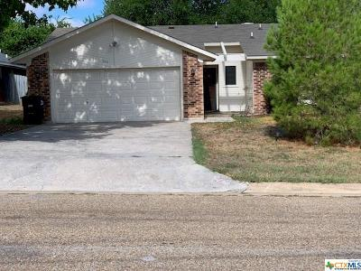 Nolanville Single Family Home For Sale: 144 Jordan Loop