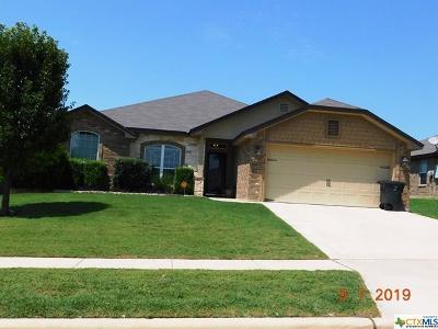 Killeen TX Single Family Home For Sale: $177,500