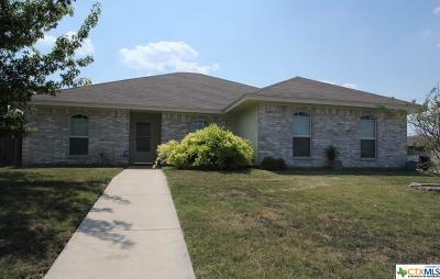 Killeen TX Single Family Home For Sale: $165,000