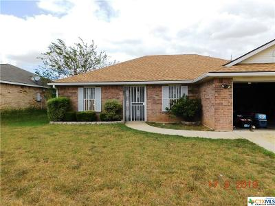 Killeen Single Family Home For Sale: 2809 Wesley Drive
