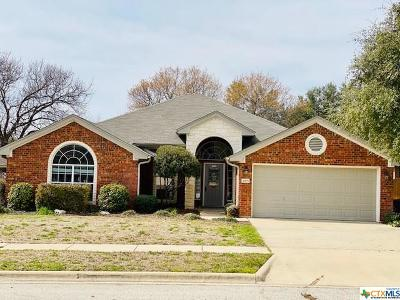 Killeen Single Family Home For Sale: 4905 Fossil Lane
