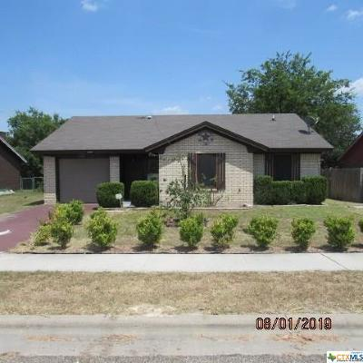 Copperas Cove Single Family Home For Sale: 208 Spur Drive