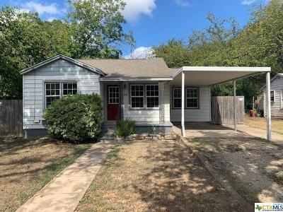 Belton Single Family Home For Sale: 814 N Beal Street