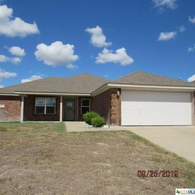 Copperas Cove Single Family Home For Sale: 3502 Lucas Street