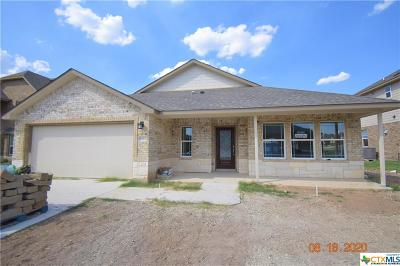 Killeen Single Family Home For Sale: 6011 Verde Drive