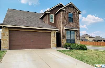 Killeen Single Family Home For Sale: 3417 Castleton Drive