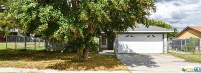 Copperas Cove Single Family Home For Sale: 212 Halter Drive