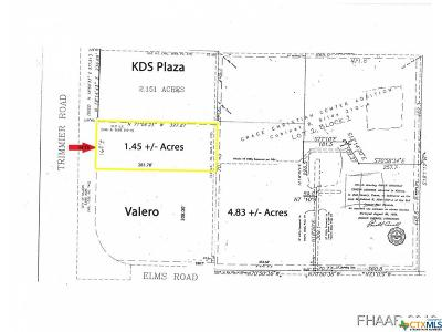 Killeen Commercial For Sale: Elms Rd. & Trimmier